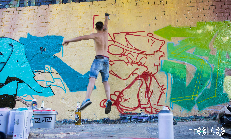 Tobo Erik Rotheim Graffiti Streetart Achim Saek B2B Berlin hall of fame style spandau wannsee dreilinden klienmachnow