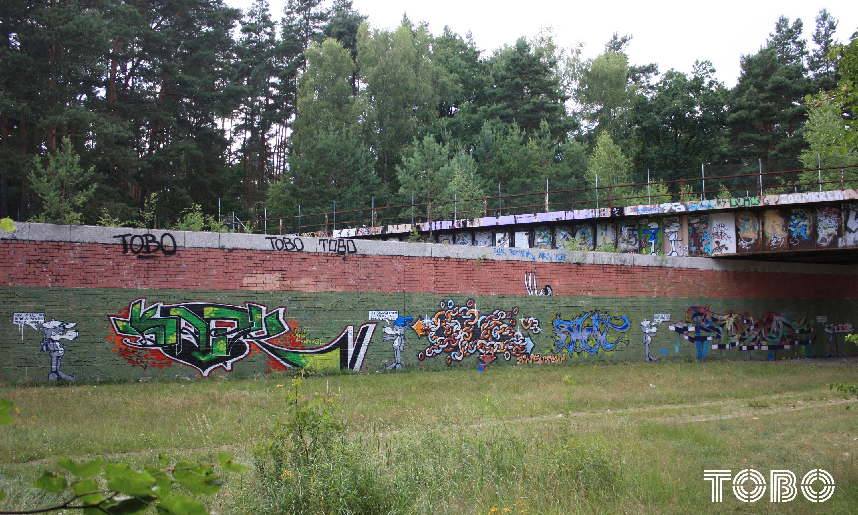 Tobo Erik Rotheim Graffiti Stretart berlin city life bws djak old kex shit cril zehlendorf alte Schule legenden von damals