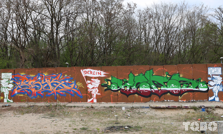 Tobo Erik Rotheim Graffiti Streetart Heks Freiburg psyk beusselstraße Tegel hall of Fame