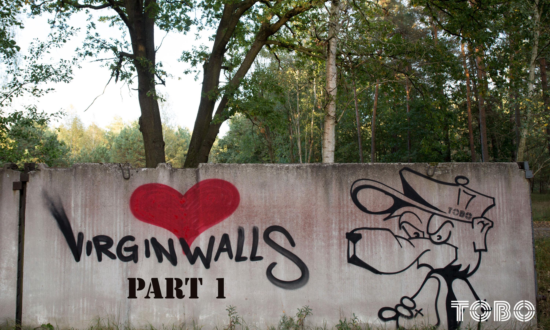 Tobo Erik Rotheim Graffiti Streetart Berlin berliner bär bear abandoned verlassene orte secret places virgin walls virginwalls urbex urban exploring urban art love