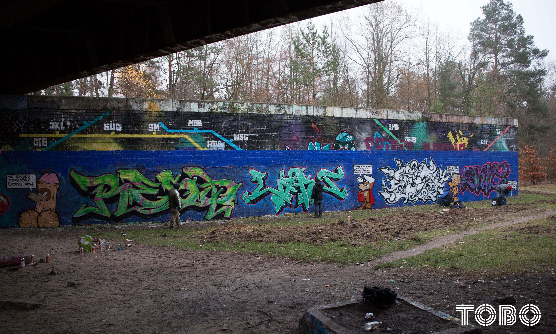 Tobo ERIK rotheim graffiti streetart alteautobahn dreilinden resq iws koc lasr old bws mrs bar zehlendorf qb kex shit keks